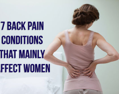 7 Back Pain Conditions